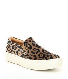 Steve Madden Gills Leopard Velvet Slip