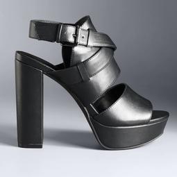 Simply Vera Vera Wang San Diego Women's High Heel Sandals