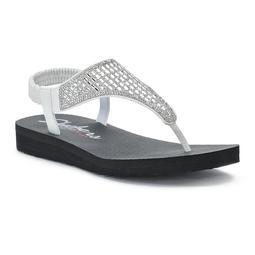 Women's Skechers Meditation Rock Crown Sandals