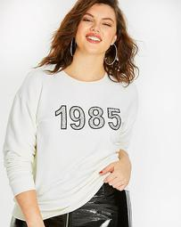 1985 Slogan Sweatshirt