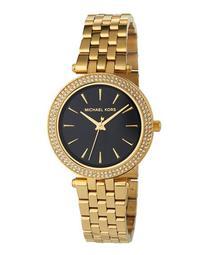 33mm Mini Darci Glitz Bracelet Watch, Black/Gold