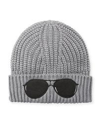 Acrylic Sunglasses Beanie