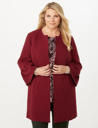 JONES STUDIO®  Plus Size Bell Sleeve Long Blazer