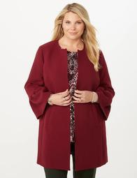 JONES STUDIO®  Plus Size Bell Sleeve Long Blazer