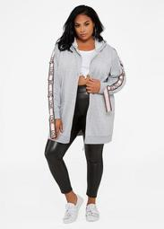 ASGIVES Breast Cancer Awareness Love Oversized Hoodie