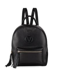Bastien Tassel-Zip Leather Backpack Bag