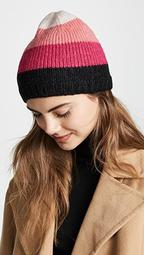 Brushed Colorblock Beanie Hat