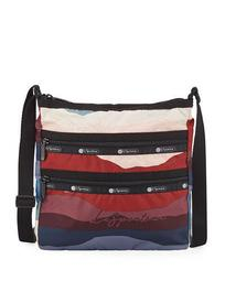 Candace North-South Zip-Pocket Crossbody Bag