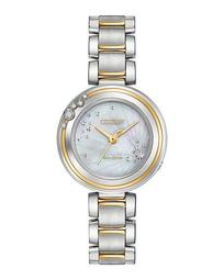 28mm Carina Bracelet Watch, Two-Tone