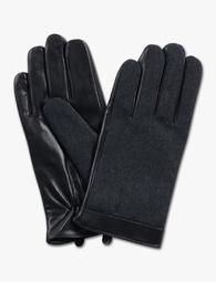 Wool Leather Gloves