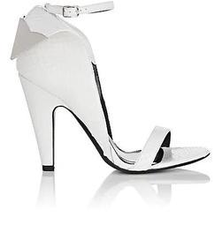 Leititia Python Sandals