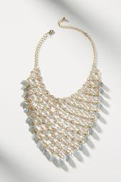 Net Bib Necklace