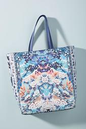 Camilla Printed Tote Bag