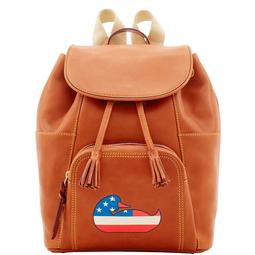 Duck Florentine Patriotic Large Murphy Backpack