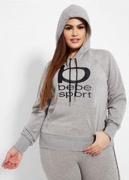 BEBE Sport Logo Fleece Hoodie