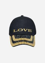 Embellished Love Baseball Hat