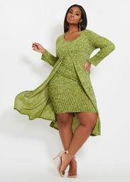 2 Fer Knit Dress