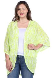 24/7 Comfort Apparel Margarita Plus Size Cardigan Shrug