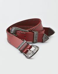 AEO Double Buckle Western Belt