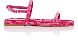 Crushed Velvet Sandals