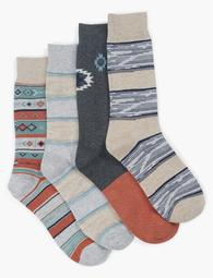 Mens Diamond Socks
