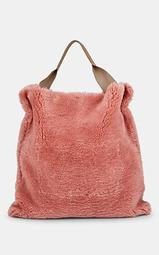 Xiao Large Shearling Tote Bag