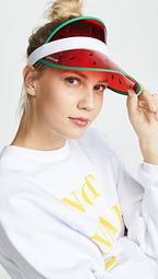 Retro Watermelon Sun Visor