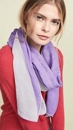 Dyed Oblong Scarf