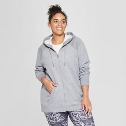 Women's Plus Size Authentics Full Zip Fleece - C9 Champion®