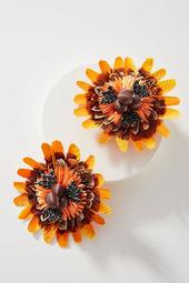 Ranjana Khan Sunburst Post Earrings
