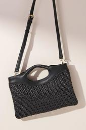 Morgan Woven Crossbody Bag