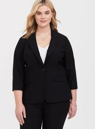 Black Supreme Stretch Chelsea Blazer
