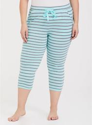 Blue with Grey Stripe Sleep Pant