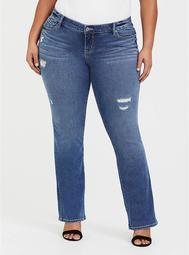 Relaxed Boot - Medium Wash