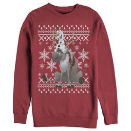 Frozen Women's Ugly Christmas Sweater Friends Sweatshirt
