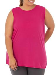 Women's Plus Size Active Crossover Tank