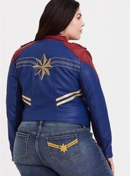 Her Universe Captain Marvel Moto Jacket