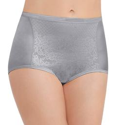 Vanity Fair Smoothing Comfort Lace Brief Panty 13262