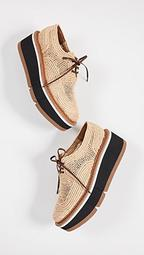 Acajou Wedge Oxford Shoes