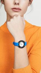 Grier Leather Watch, 34mm