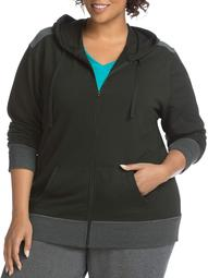 Just My Size Women's Plus Active French Terry Zip Hoodie