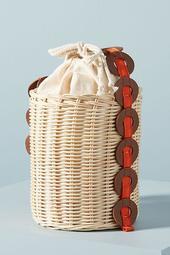 Maria La Rosa Italian Basket Bag