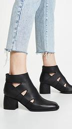 Acid Block Heel Booties
