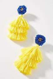 Luxchilas Tassel Drop Earrings