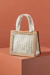 Ana Crocheted Mini Tote Bag