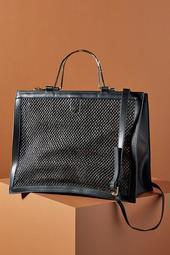 Portia Woven Tote Bag