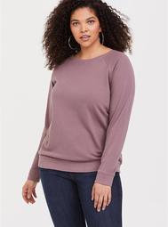 Mauve Purple Pullover Sweatshirt