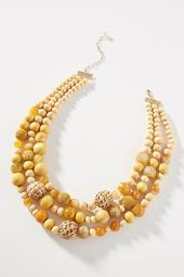 Bauble Bib Necklace