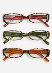 Animal Print Reading Glasses Set