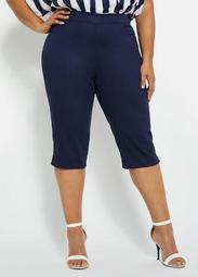 "17"" Cotton Capri Pant"